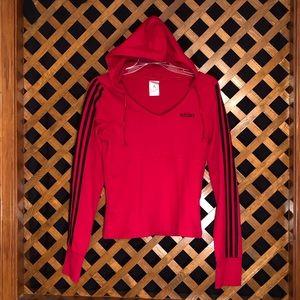 Adidas Sweatshirt With Hoodie